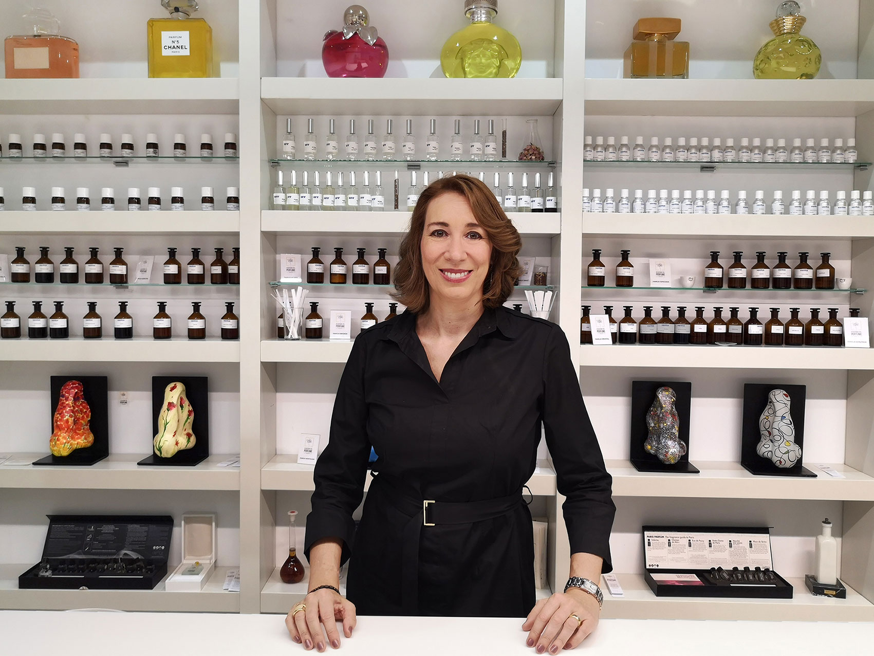 Cristina de Catalina, directora de desarrollo de la Academia del Perfume.