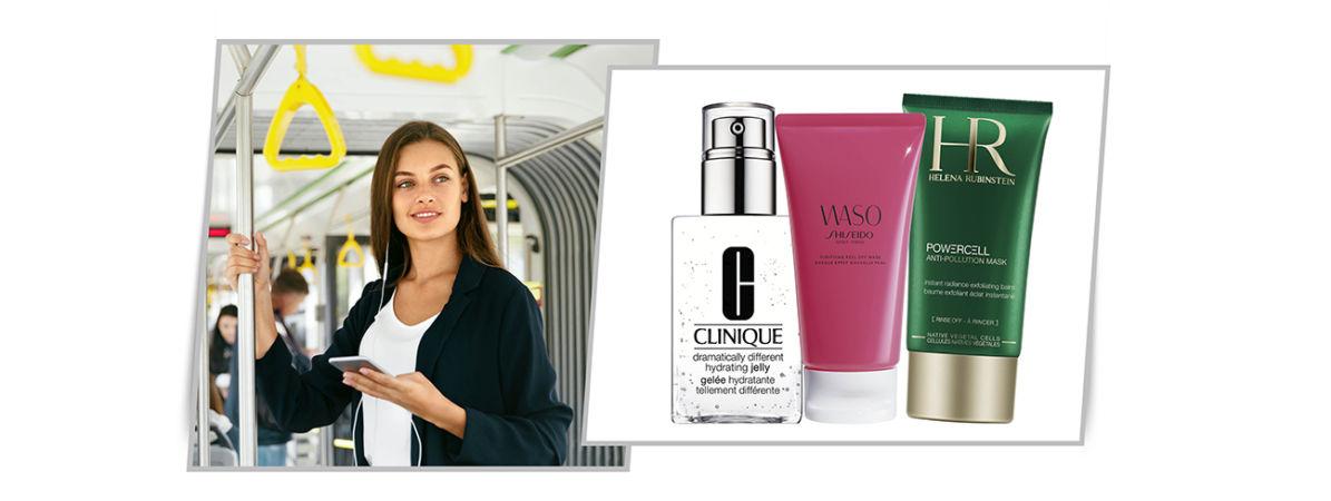 tratamientos faciales anticontaminación: Shiseido, Helena Rubinstein, Clinique, Sepai, Nuxe