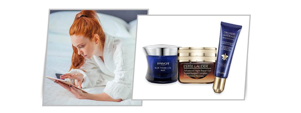 Luz azul cuidado facial: Payot, Estée Lauder, Guerlain