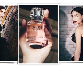 L'Interdit Givenchy perfume y Rooney Mara