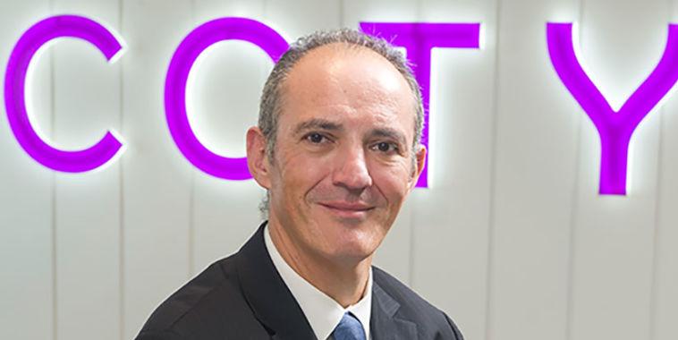 Iñaki Trincado, director general de Coty Luxury España.