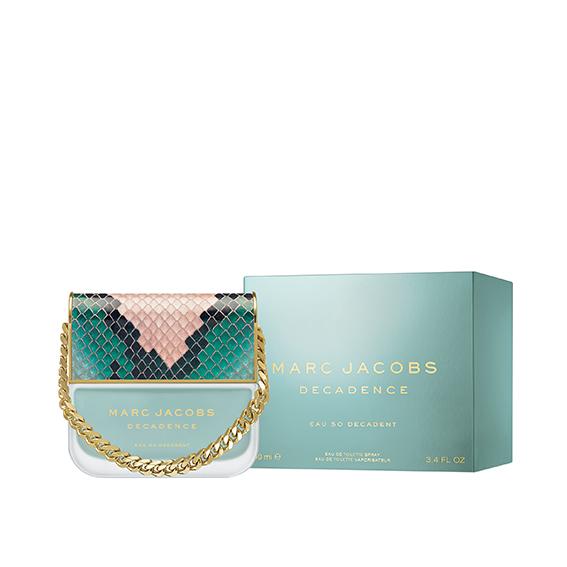 Marc Jacobs Décadence eau de toilette, perfume con forma de bolso
