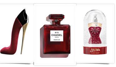 Perfumes de Navidad rojos 2018: Good Girl Carolina Herrera, Chanel Nº5, Classique Jean Paul Gaultier