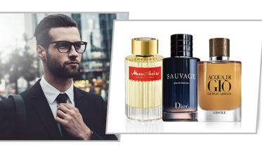 perfumes masculinos de 2018. Perfumes hombre Navidad 2018: Moustache, de Rochas, Eau Sauvage de Dior, Acqua di Giò de Giorgio Armani