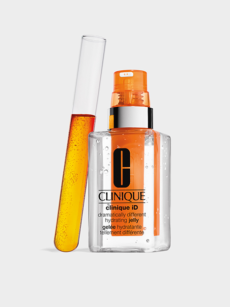 CLINIQUE ID Naranja, Dramatically Different Hydrating Jelly. Activo concentrado con taurina para reactivar la piel frente a la fatiga.