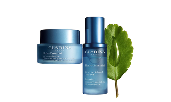 Clarins Hydra-Essentiel crema y sérum