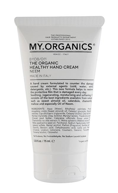Crema de manos- My Organics