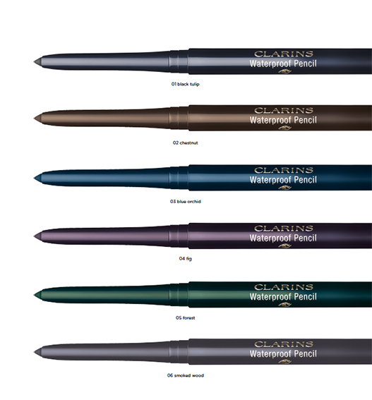 Waterproof Pencil Clarins, seis colores