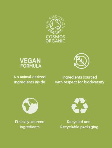 Garnier organic etiqueta
