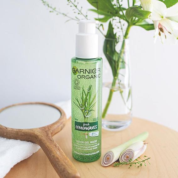 Garnier Organic, línea de tratamiento facial con ingredientes naturales orgánicos y veganos