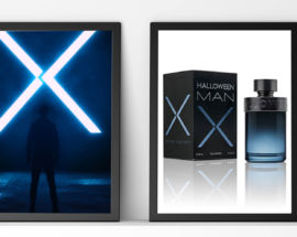Halloween men X perfume masculino