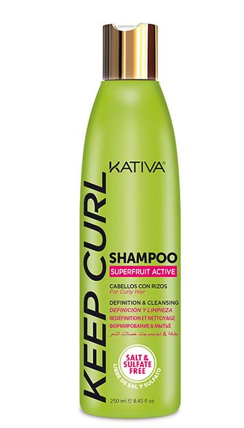 KATIVA Keep Curl champú sin sulfatos