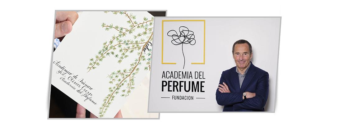 Academia del Perfume perfumista Olivier Cresp: : tu perfume es una obra de arte