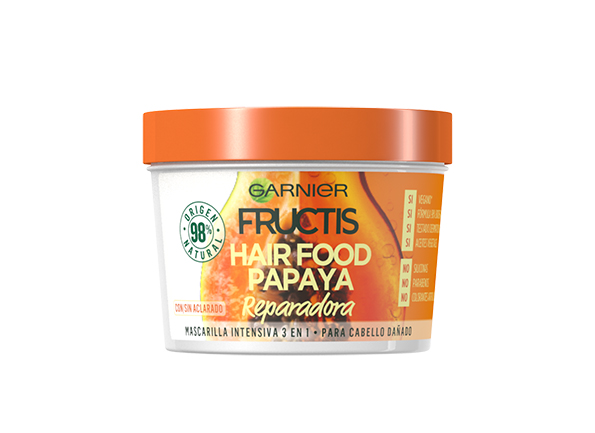 Hairfood Fructis de Garnier - Papaya