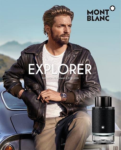 Montblanc Explorer, visual del nuevo perfume masculino de Montblanc 2019