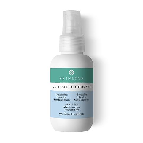Desodorante Natural con salvia y romero, de Skin Love.