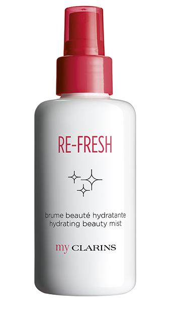 My Clarins Re-Freh Bruma Embellecedora Hidratante, tonifica la piel
