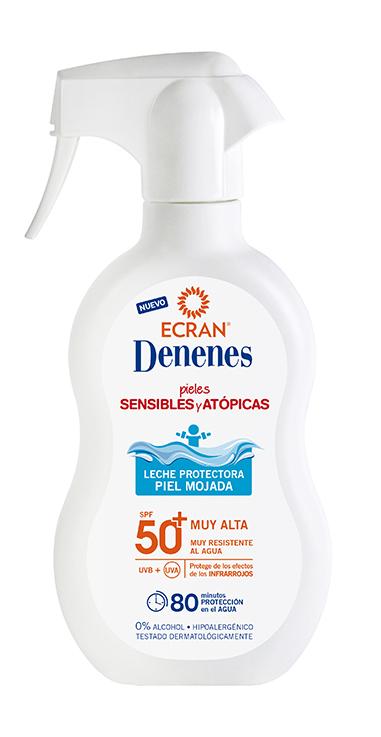Ecran Denenes Leche Protectora 300ml SPF 50 +, pieles sensibles y atópicas