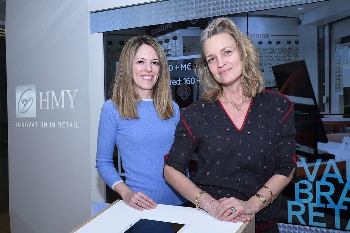 Lorena Gómez y Annja Mostrup, de HMY.