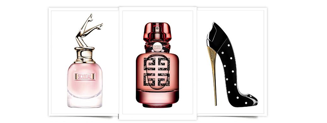 Descubre qué cinco marcas estrenan perfume esta primavera: Scandal, L'Interdit, Good Girl..