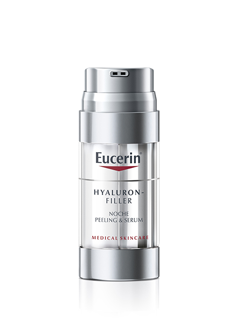 Eucerin Hyaluron Filler Noche Peeling and Serum