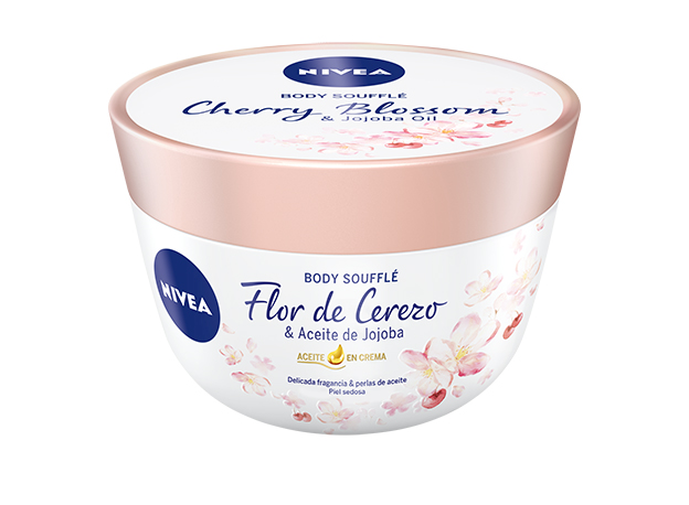 Nivea Body Soufflé Flor de Cerezo