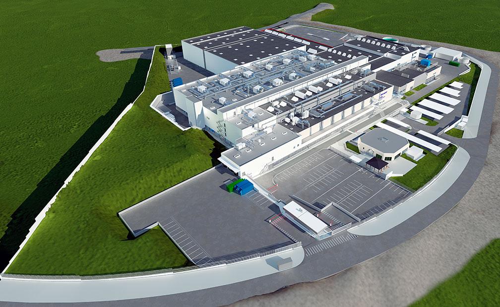 Ampliación de la fábrica de Beiersdorf en Tres Cantos.