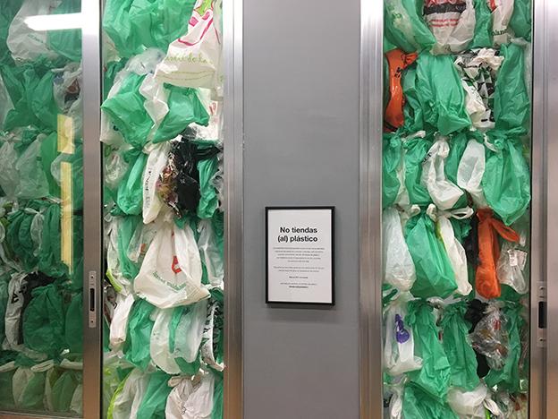 lush bolsas plástico