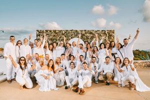 Celebración del 21º aniversario de Perfumes y Diseño en Ibiza.