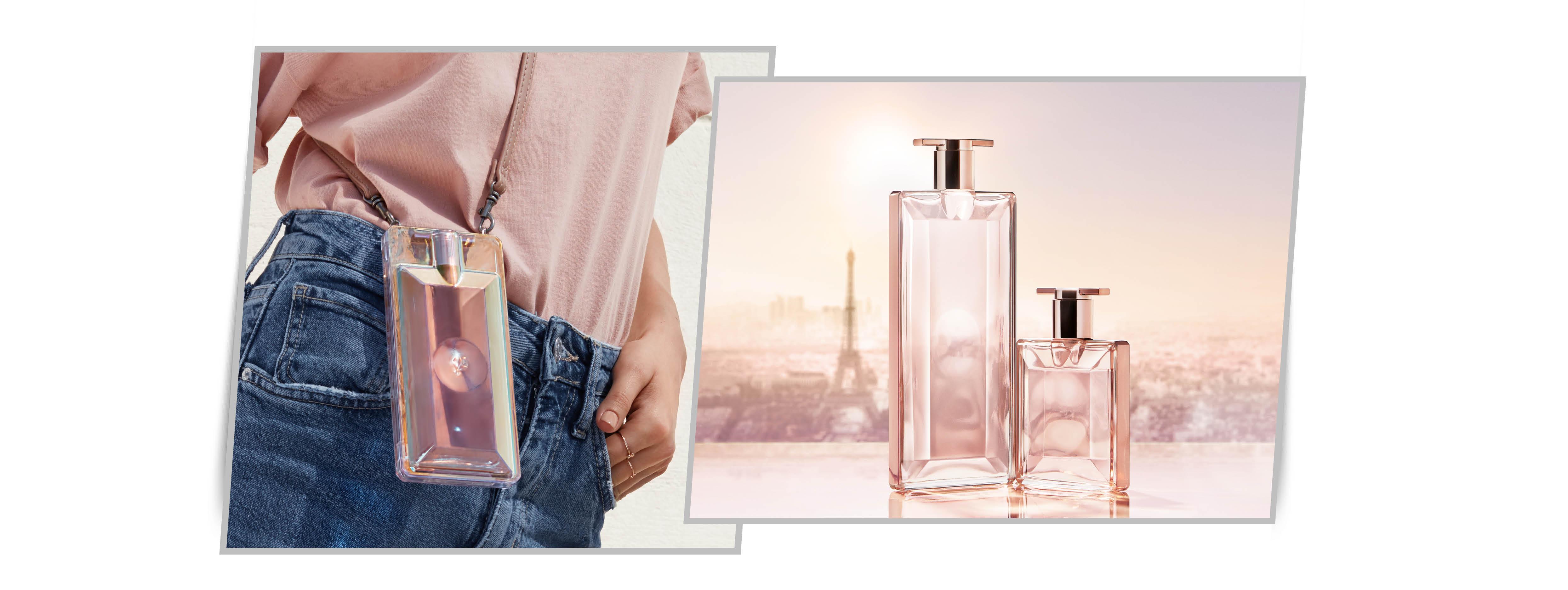 anuncio del perfume lancome idole 2019