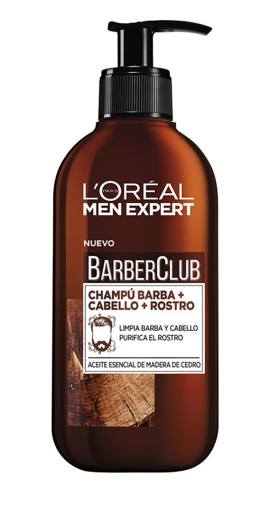 Limpiador barba + cabello + rostro, Barber Club, de L'Oréal