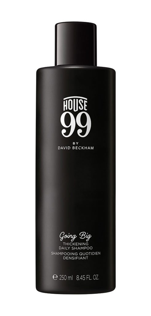 Daily Shampoo Going Big, House 99 by David Beckham