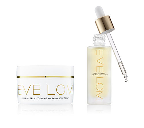 EVE LOM Radiance Transforming Mask y Radiance face oil con extracto de hemp