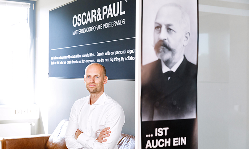 Beiersdorf Hauke Voss, director business unit Oscar and Paul corporate indie brands