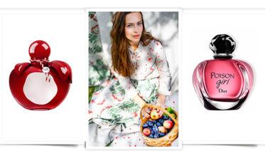 Perfumes con forma de manzana