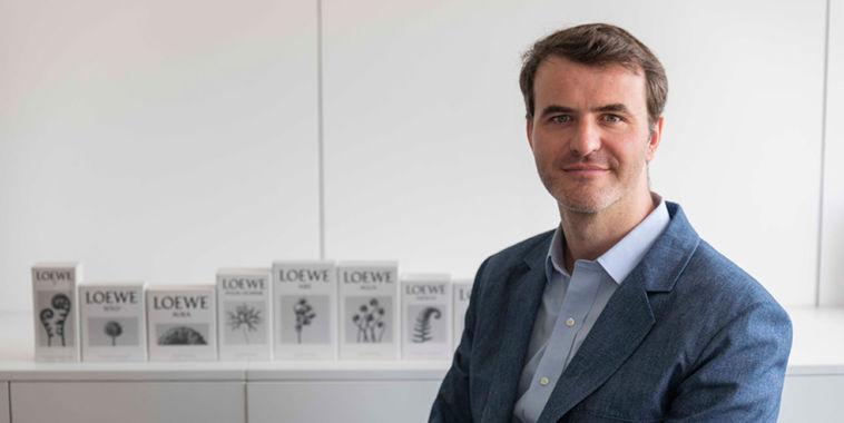 Sergio de León, director de marketing de Perfumes Loewe.
