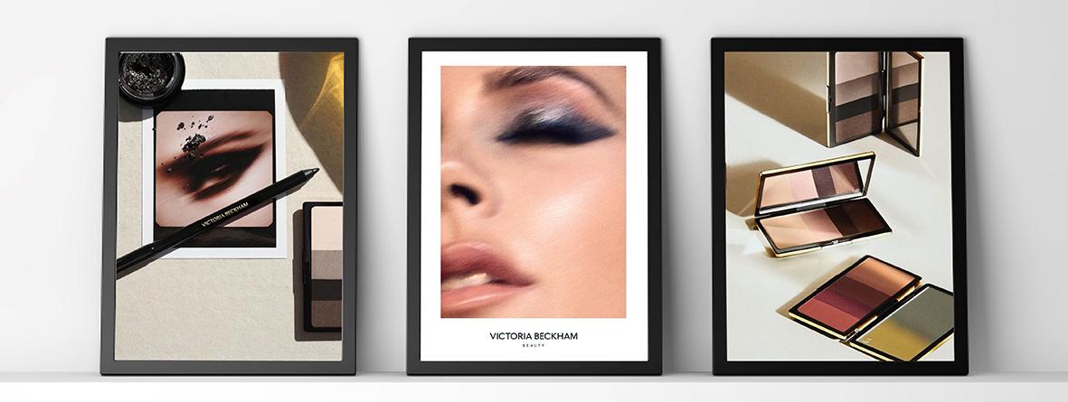 Algunos productos y look de la colección de maquillaje de Victoria Beckham