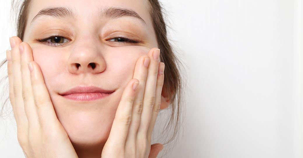 Foto en primer plano de una chica para post Eridosis
