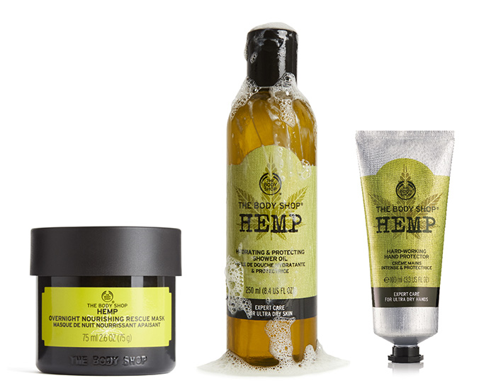 Novedades cáñamo The Body Shop