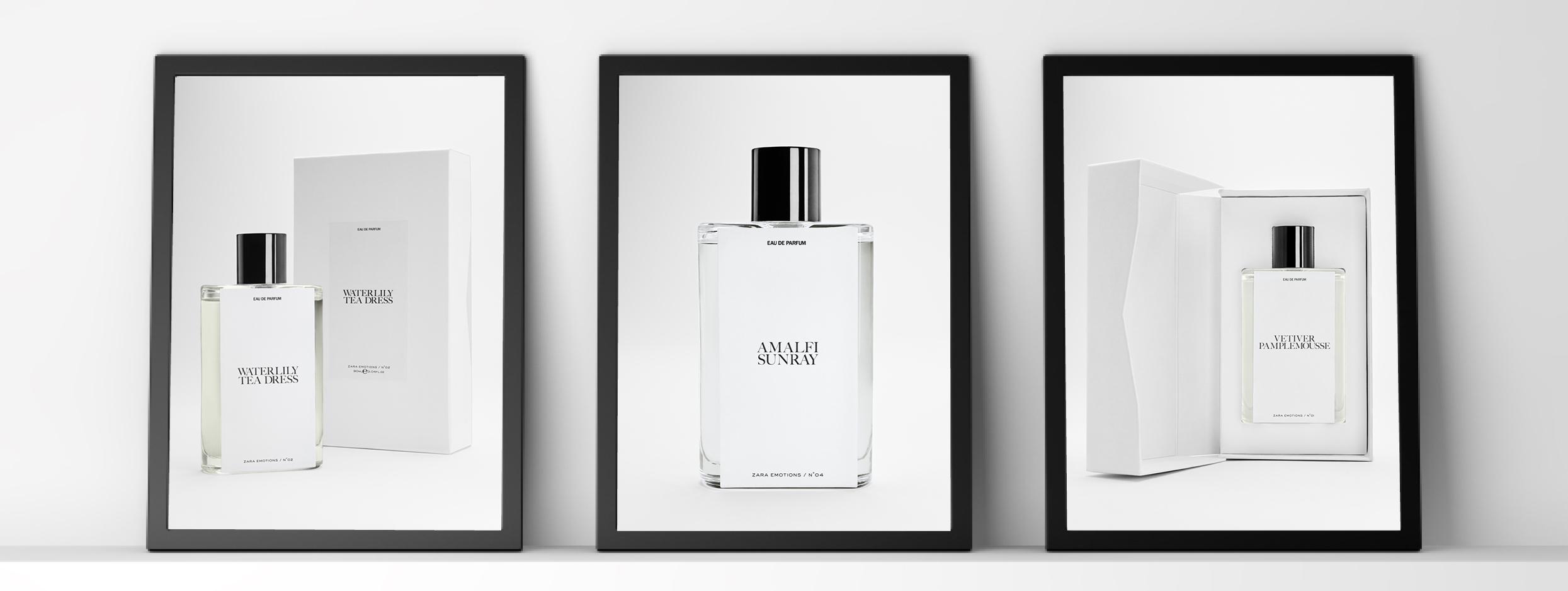 Jo Malone y Zara perfumes