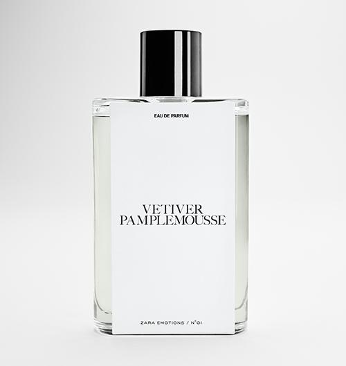 Perfume Vetiver Pamplemousse Zara Jo Malone