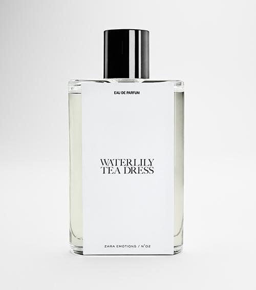 Waterlily Tea Dress perfume Zara Jo Malone