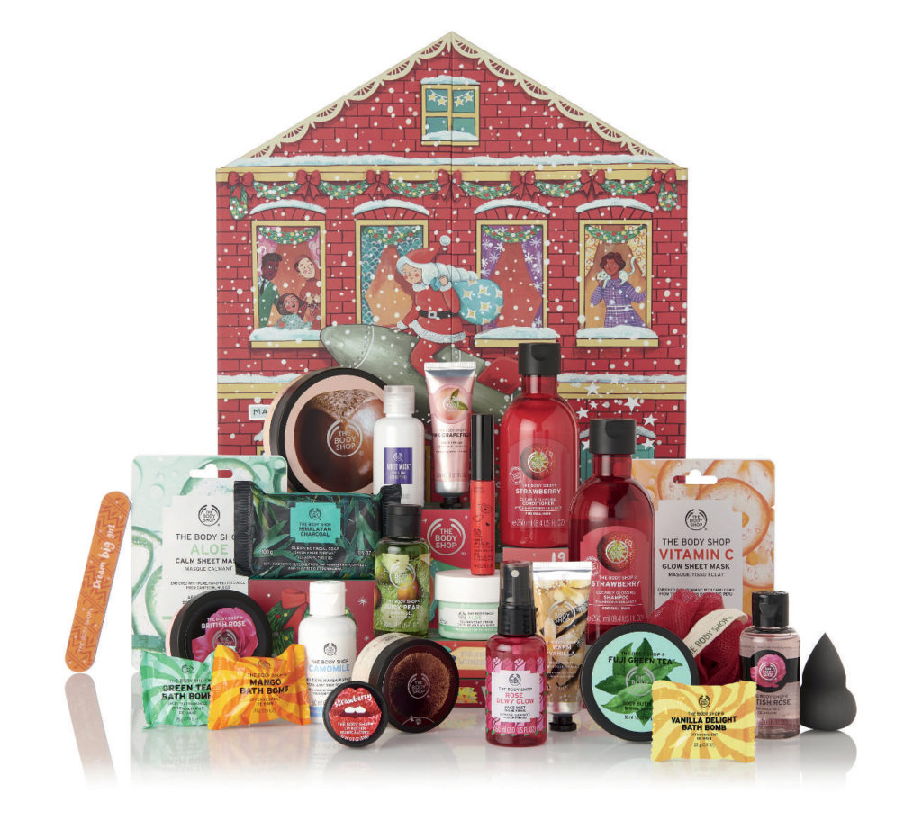Calendario de Adviento Deluxe de The Body Shop