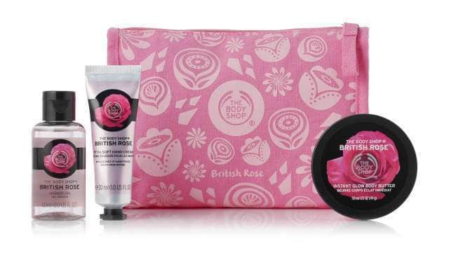 The Body Shop Neceser British Rose Delights