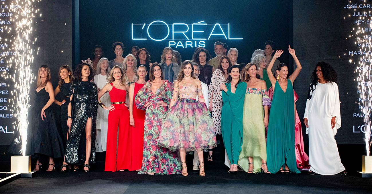 Generación silver desfila de la mano de L'Oréal Paris desfile de la visibilidad: Mi edad perfecta.