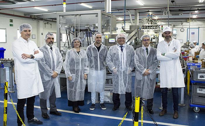La CEOE visita Mixer&Pack con motivo de su nueva planta de fabricación de perfumería