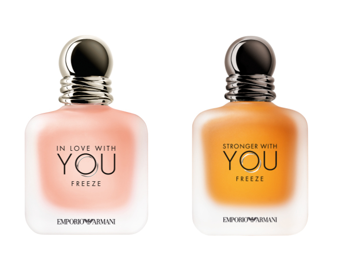 Armani In love with you y Stronger With You Freeze