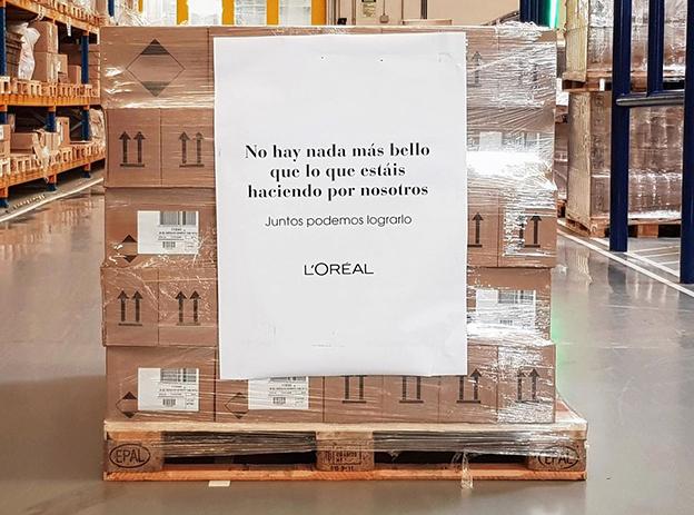 La fábrica de Burgos de L'Oréal produce geles hidroalcohólicos para toda España