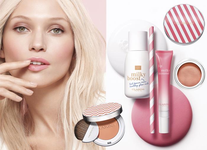 Clarins tendencias de maquillaje de primavera