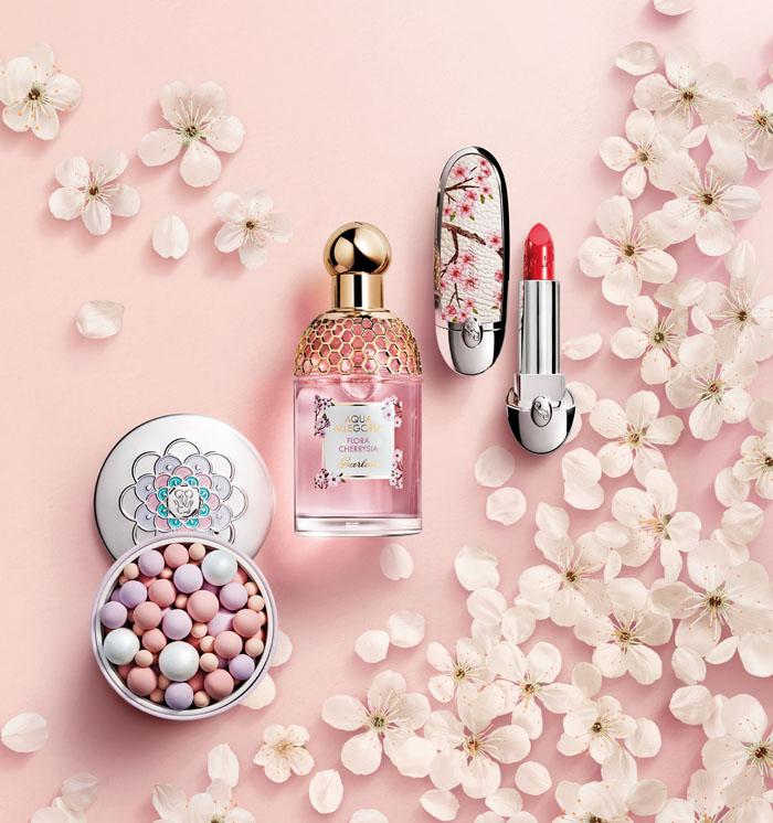 Guerlain Cherry Blossom maquillaje de primavera